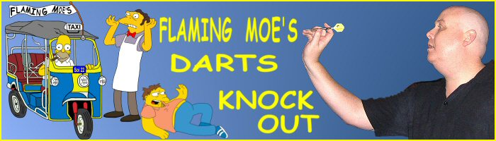 Darts Thailand - Flaming Moe's Event