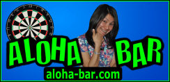 The Aloha Bar located on Sukhumvit Soi 22 where you can always find a friendly game of darts www.aloha-bar.com
