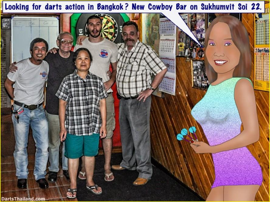 16 Apr Darts Action New Cowboy Bar (12)