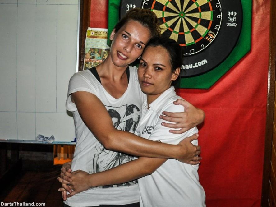 Belgium Darters Laia & Johan in BKK (2)