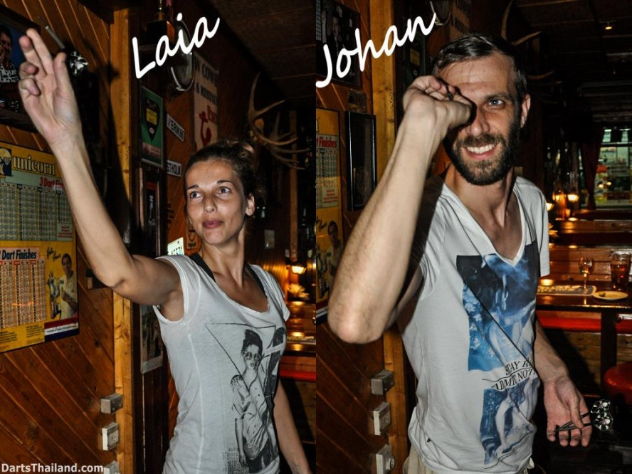 Belgium Darters Laia & Johan in BKK (7)