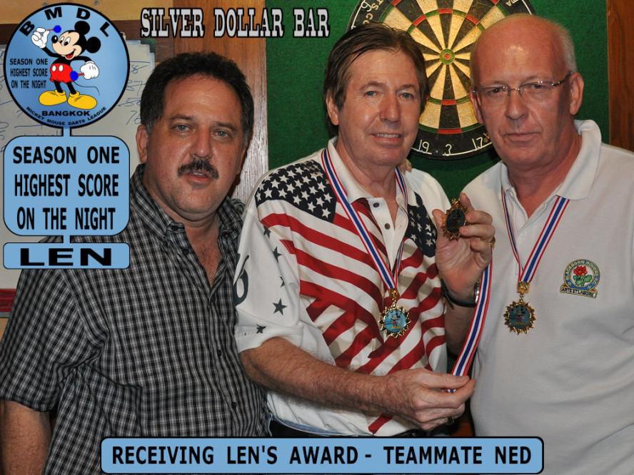 dt1658_bmdl_bangkok_mickey_mouse_dart_league_highest_score_award