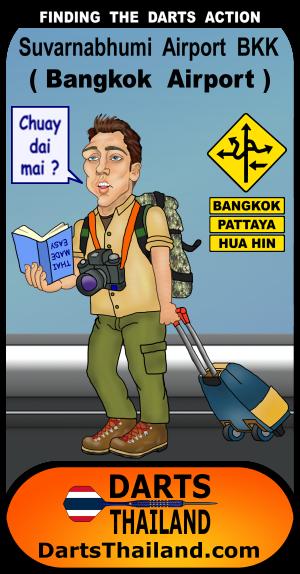 40_darts_visit_suvarnabhumi_airport_bangkok_cartoon_soi22johnny
